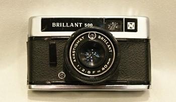 Brillant 500 obj. Anastigmat 40mm 1:2,8f