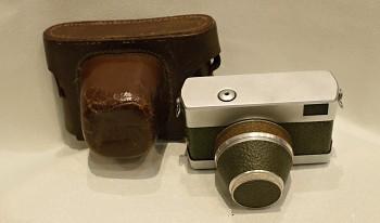 Werra obj. Tessar 50mm/2,8f + Brašna