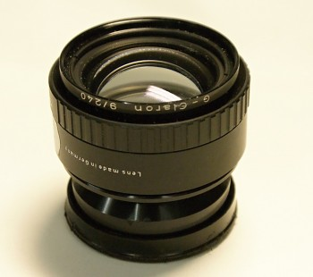 Schneider G- Claron 9/240mm format 8x10