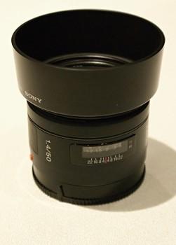Objektiv Sony A 50mm 1,4f