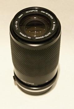 Olympus 70-210mm 1:4,5-5,6 f Manual Focus + pouzdro