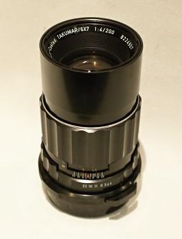 Objektiv Takumar 6x7 1:4/200mm pro Pentax 6x7