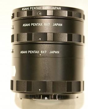 Pentax ASAHI 6x7 sada mezikroužků