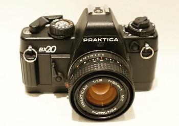 Praktica BX 20 obj. 50mm/1,8f