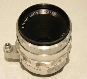 Objektiv Tessar 2,8/50mm Bajonet Exakta/ Exa