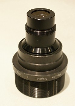 Projekční Objektiv Meopta Stigmar  X 1,1/75mm