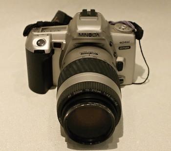 Minolta 404 Sí .obj: Minolta 70-210mm 1:4,5-5.6f