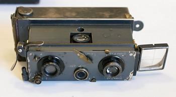 Stereo camera Verascope Brevete S.G.D.G rok 1908 + Brašna