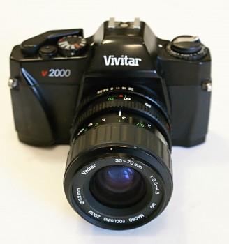Vivitar v2000 obj: Vivitar 35-70mm 3,5/4,8 F