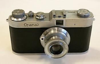 Opema obj: Belar 1:3,5f 45mm