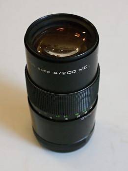 Pentacon 200mm 4f M42