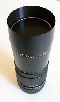 Jupiter 3,5f 250mm Bajonet Pentacon six 6x6