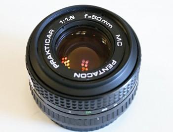 Pentacon 50mm 1,8f bajonet Praktica B
