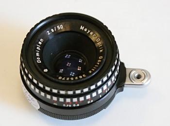 Domiplan 2,8f 50mm Bajonet Exakta