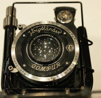 Voigtlander 6x9 objektiv: Heliar 1:4,5-105mm