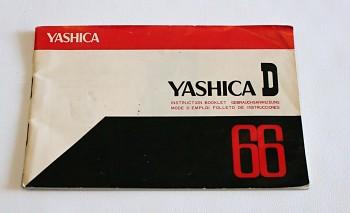NÁvod Yashica D 66