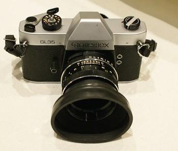Rolleiflex SL35 obj.Xenon 1,8/50