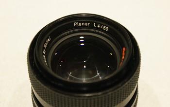 Objektiv Planar 1,4/50mm bajonet Rolleiflex