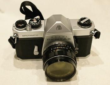 Asahi Pentax Spotmatic SP obj. Takumar 1:3,5/35mm M42 + Brašna