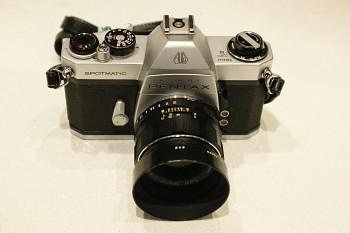 Pentax Asahi SP II obj . Super Takumar 1,8/55mm M42 + Brašna