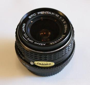 SMC Pentax -M 28mm / 1:3,5 f