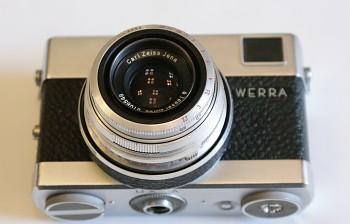 Werra Objektiv Tessar 2,8/50mm
