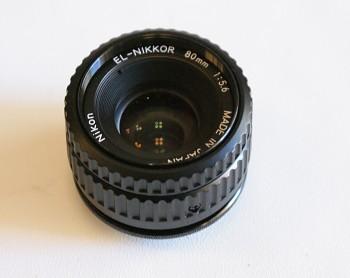 Nikon EL-Nikkor 80mm 1:5,6f zvětšovací objektiv