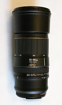 Sigma APO 135 - 400mm 1:4,5-5,6D Bajonet Nikon AF