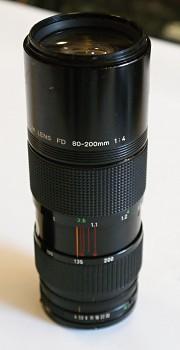 Canon 80-200mm FD 1:4F Bajonet FD