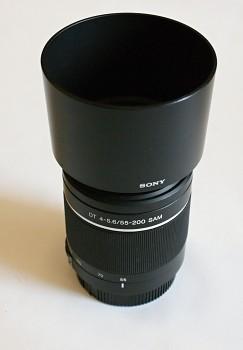 Objektiv Sony DT 4 -5.6f  55-200mm SAM pro sony A bajonet