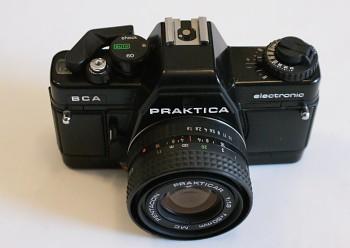 Praktica BCA Obj: Prakticar 1:1,8/50mm