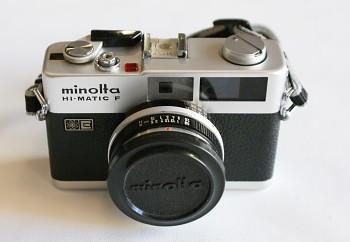 Minolta HI - Matic F obj: 38mm/2,7f