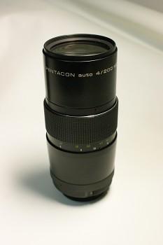 Objektiv Pentacon 4/200mm M42 + Brašna
