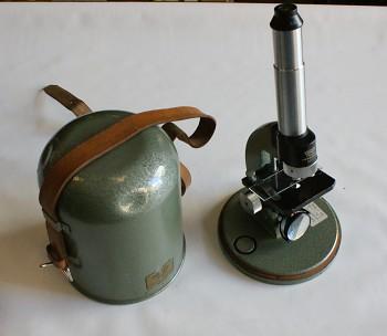 Cestovní Mikroskop  zvětšení 50-300x