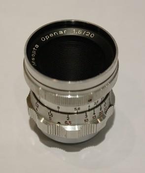 Objektiv na Admiru 16mm Openar 1,8/20mm