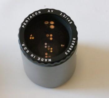 Objektiv Pentacon AV 140mm/3.5