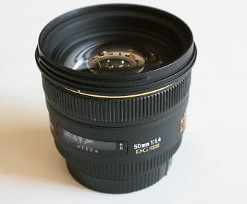 Objektiv Sigma pro Canon Af 50mm 1.1,4f DG HSM Ex