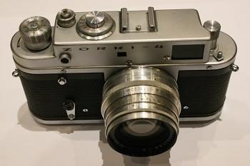 Zorki - 4 obj: Jupiter 2/50mm + Brašna