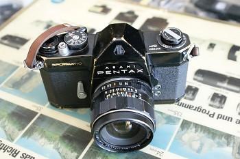 Asahi Pentax Spotmatic SP obj: Takumar 3,5/28mm