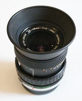 Objektiv Olympus  zoom 28-48mm 1:4 F m Fokus
