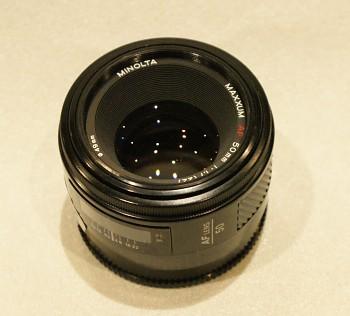 Objektiv Minolta 50mm 1,7F AF