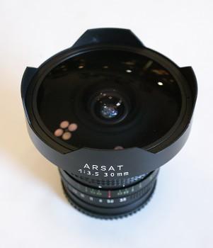 Objektov Arsat 30mm 1:3,5 Zavit pro Kiev 80 6x6
