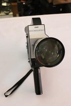 Kamera Krasnogorsk -3 , 16mm Objektiv: Meteor 1,9/17-69mm