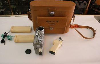Kamera Admira 16mm obj: Openar 1,8/20 + Brašna
