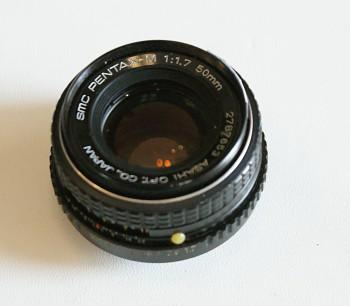 Objektiv Pentax SMC -M 50mm 1:1,7