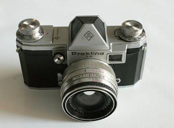 Praktina II A obj:Flexon 2/50mm + Brašna