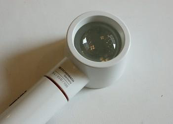 Lupa s osvětlením Eschenbach 6x/23D/100