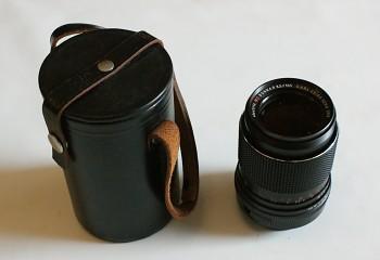 Objektiv Sonnar 135/3,5F M42 + pouzdro
