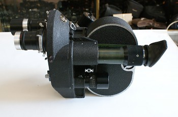 Filmova Kamera 35mm KOHBAC 2x obj :Jupiter 135mm f4 2x Kazeta