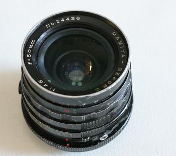 Objektiv Maiya Secor 50mm 4,5f pro RB 6x7